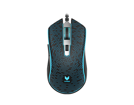 RAPOO VPRO GAMING MOUSE WIRED V12  - BLACK