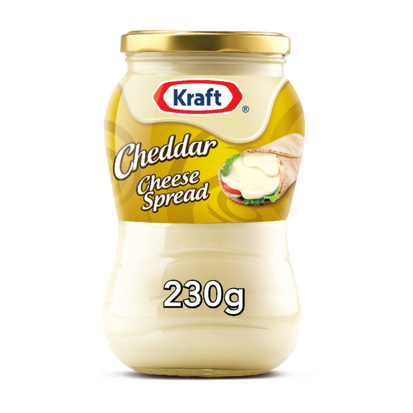 Kraft Cheddar Cheese Spread Original Jar 230g