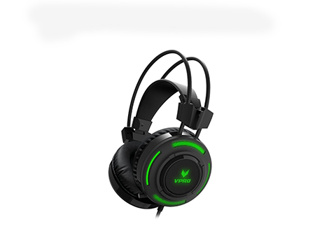 RAPOO VPRO GAMING HEADSET WIRED VH200 ILLUMINATED - BLACK