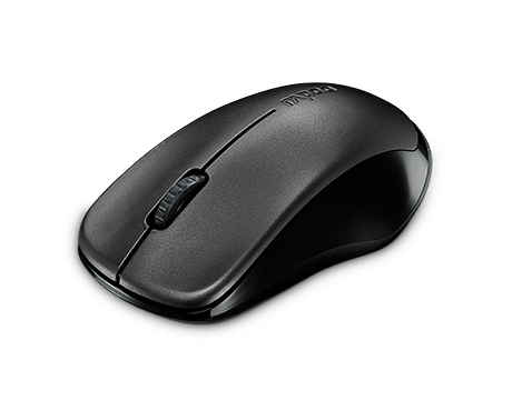 RAPOO MOUSE WIRELESS OPTICAL 1620- BLACK (NEW) Blister