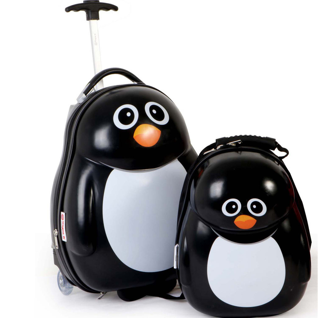 Wagon R Penguin Kids Luggage + Backpack EK03