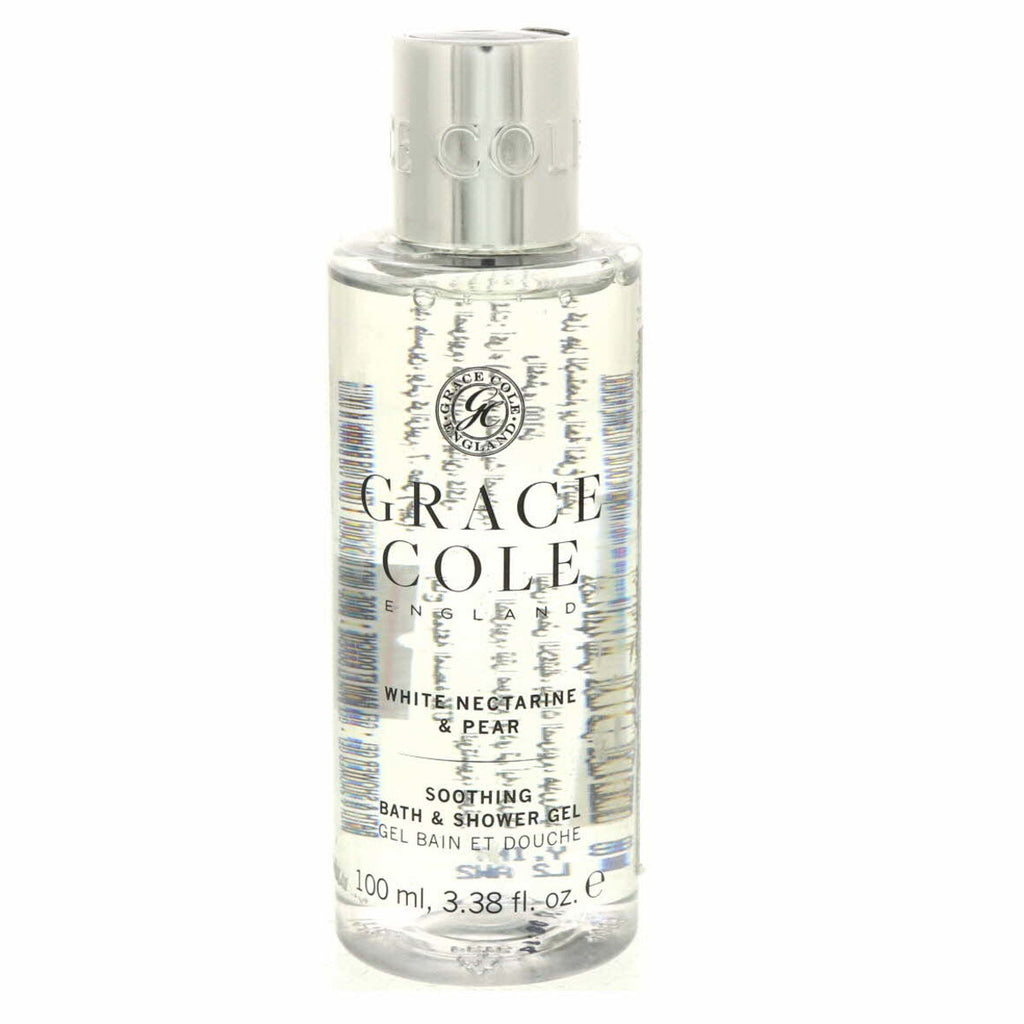 Grace Cole Soothing Bath And Shower Gel White Nectarine And Pear 100ml