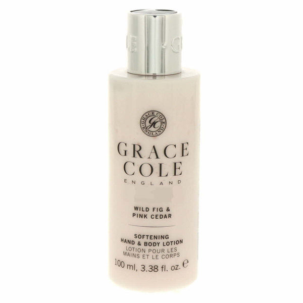 Grace Cole Softning Hand And Body Lotion Wild Fig And Pink Cedar 100ml