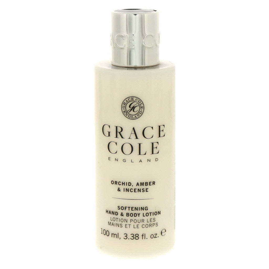 Grace Cole Softning Hand And Body Lotion Orchid, Amber And Incense 100ml