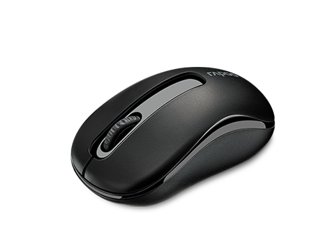RAPOO MOUSE WIRELESS M10 PLUS - BLACK