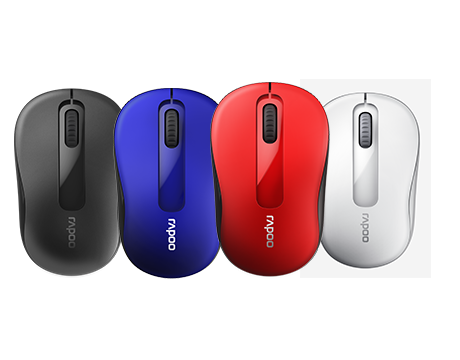 RAPOO MOUSE WIRELESS M10 PLUS - أحمر