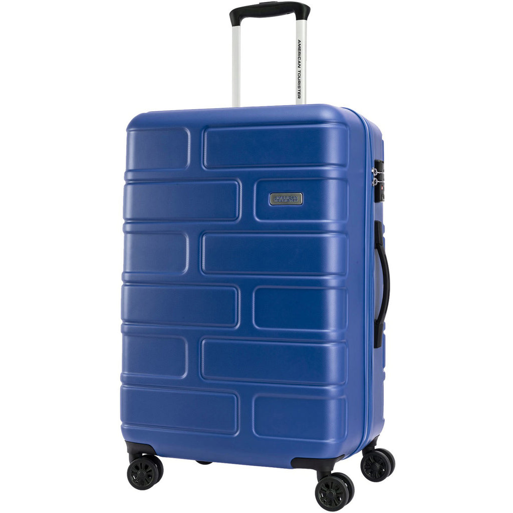 American Tourister Bricklane 4 Wheel Hard Trolley 55cm Blue