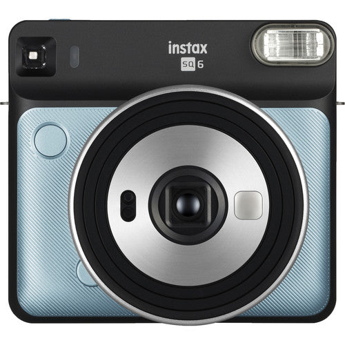 FUJIFILM INSTAX SQUARE SQ6 Instant Film Camera (Aqua Blue)