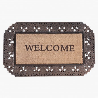 Welcome Ornamental Doormat - 55x90 cms