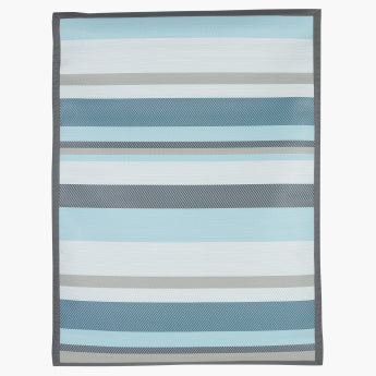 Verdi Striped Outdoor Mat - 120x160 cms