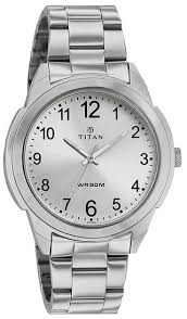 Titan G Formal Steel Watch