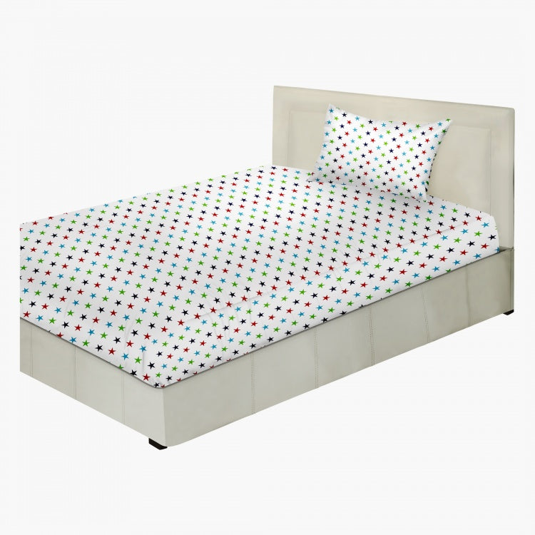 Aaron Full Fitted Sheet - 200x120 cms BHD 9.90 Earn 38 Shukrans
