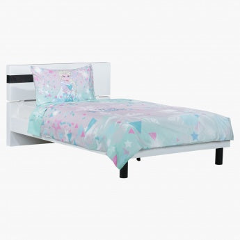 Frozen Printed Confetti Filled 2-Piece Duvet Cover Set - 160x200 cms
