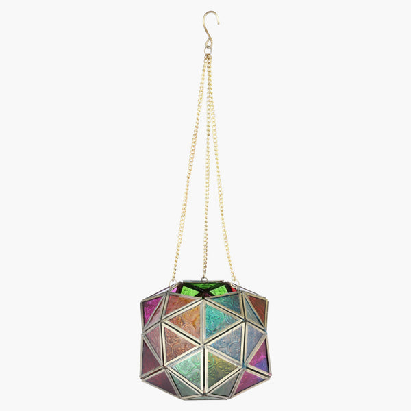 Clichy Hanging Lantern with Chain and Hook