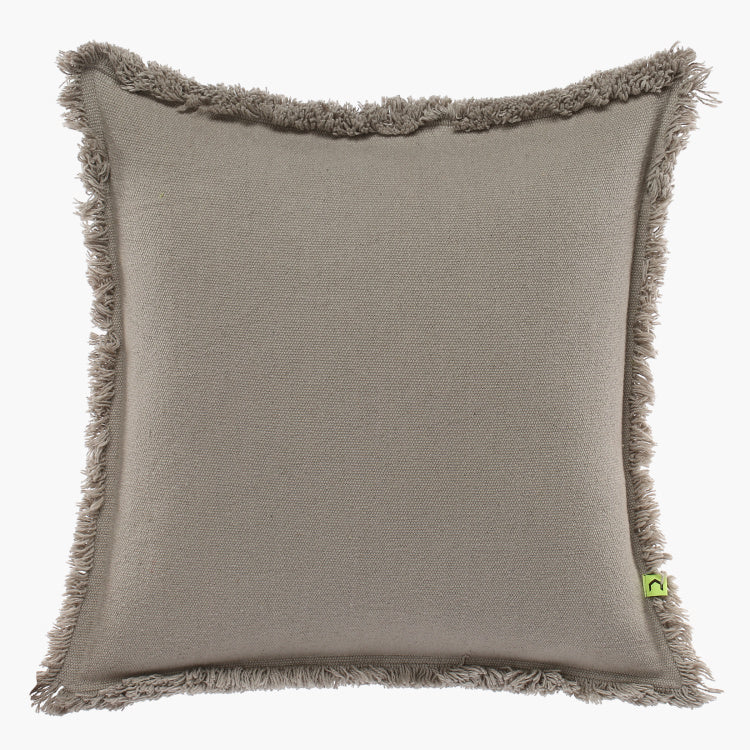 Classa Cushion Cover with Fringes
