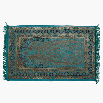 Emerald Printed Prayer Mat - 68x115 cms