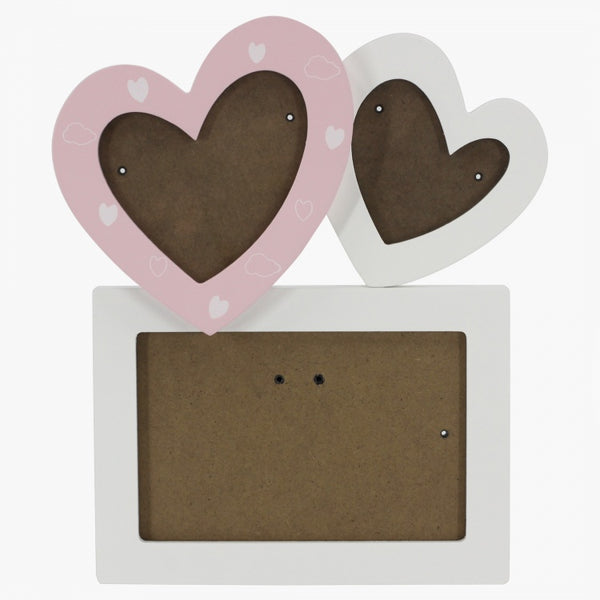 Bernie's Heart Shape Photo Frame - 4x6 cms