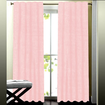 Valerie's 2-Piece Textured Curtain Set - 140x240 cms