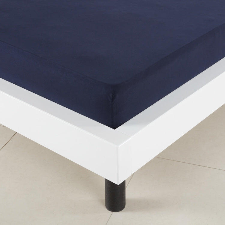 Cloud Jersey Fitted Sheet - 120x200 cms