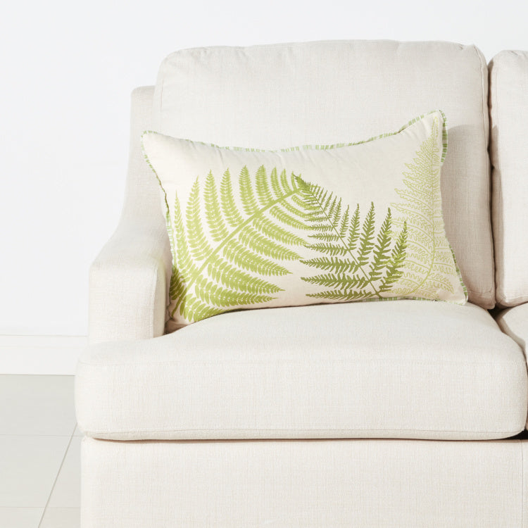 Botanica Printed Cushion Cover with Zip Closure