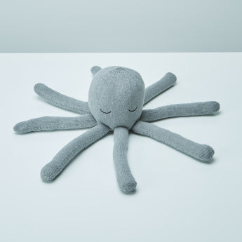 Ollie Octopus Shaped Printed Cushion - 50x50 cms