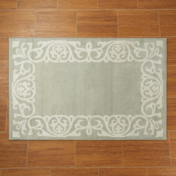 Frame Textured Rectangular Shaped Rug - 200x290 cms
