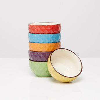 Urban Textured Bowls - Set of 6