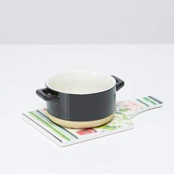 Gardens 2-Piece Cuisine Soup Bowl with Trivet Set