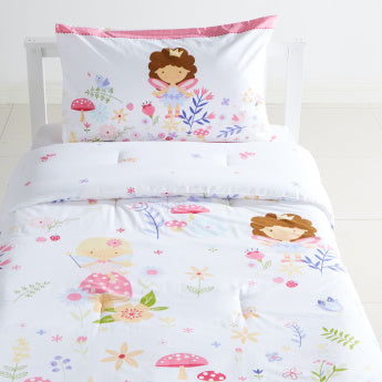 Stephanie Printed 2-Piece Comforter Set - 135x220 cms