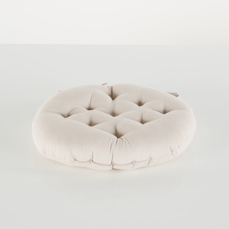 Mabelline Round Chairpad with Tie-Ups