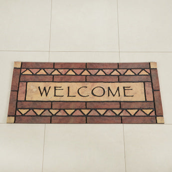 Celtic Rock Textured Doormat - 49x119 cms