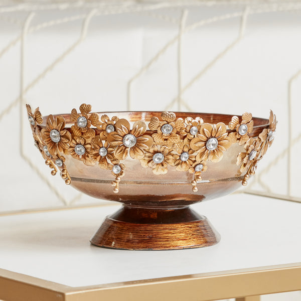 Tiaret Embellished Decorative Bowl
