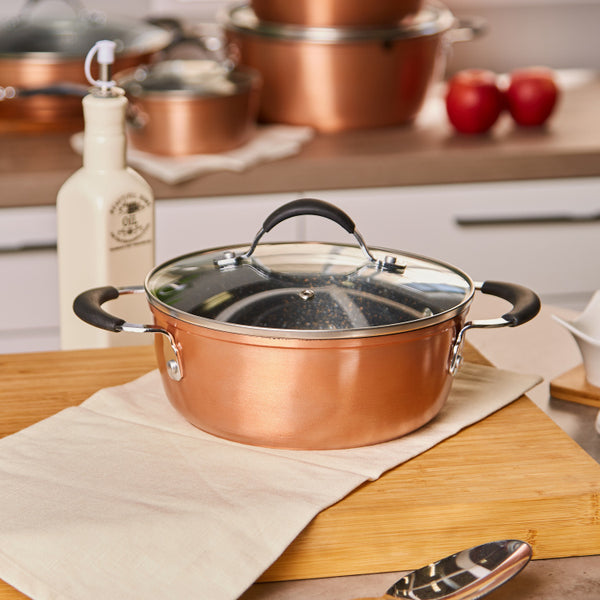 Infinity Chef Aluminium Casserole with Lid - 2.4 L