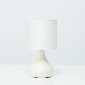 Corinth Ceramic Table Lamp - 14x14x25 cms