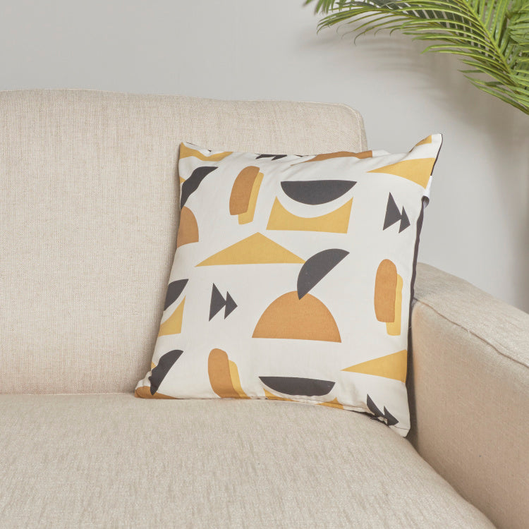 Organic Lussio Printed Cushion Cover