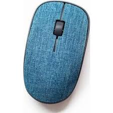 RAPOO MOUSE WIRELESS FABRIC 3510 PLUS - BLUE