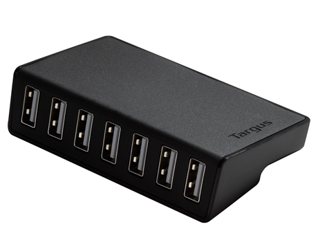 Targus 7 Port USB 2.0 Desktop Hub Black