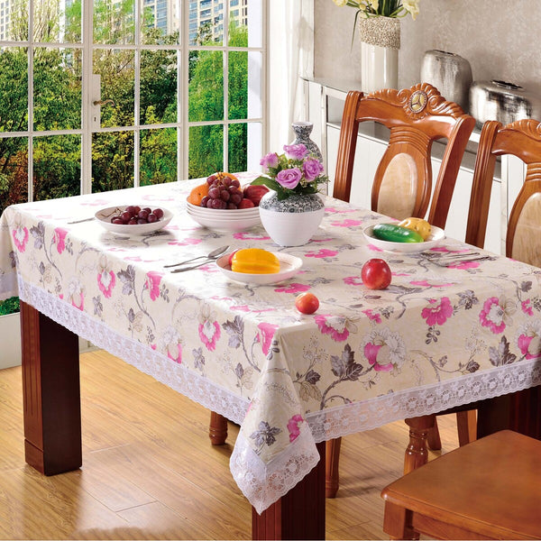 Maple Leaf Table Cloth Printed Size: W152 x L228cm Assorted Colors & Designs