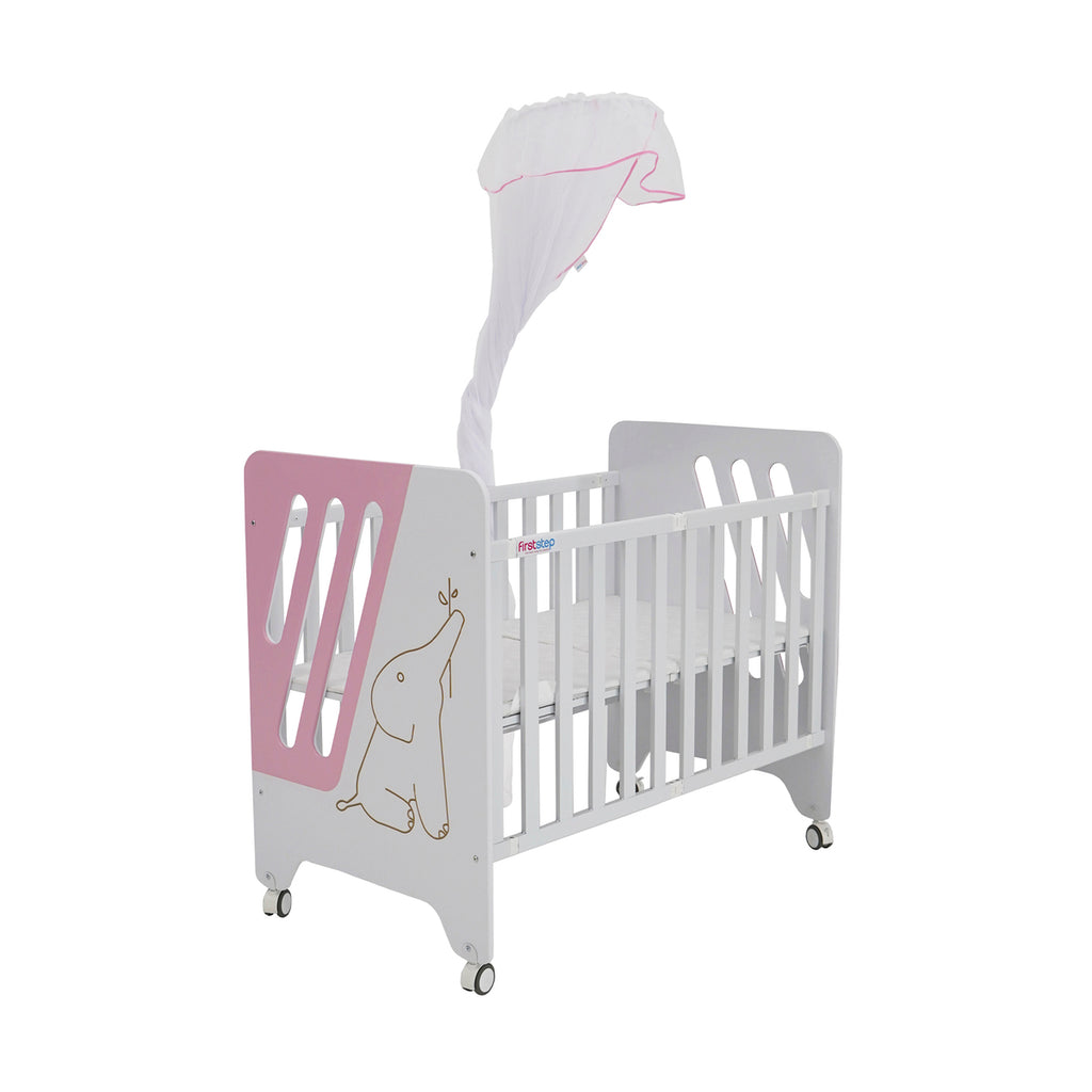 First Step Baby Bed P-505-Z Pink