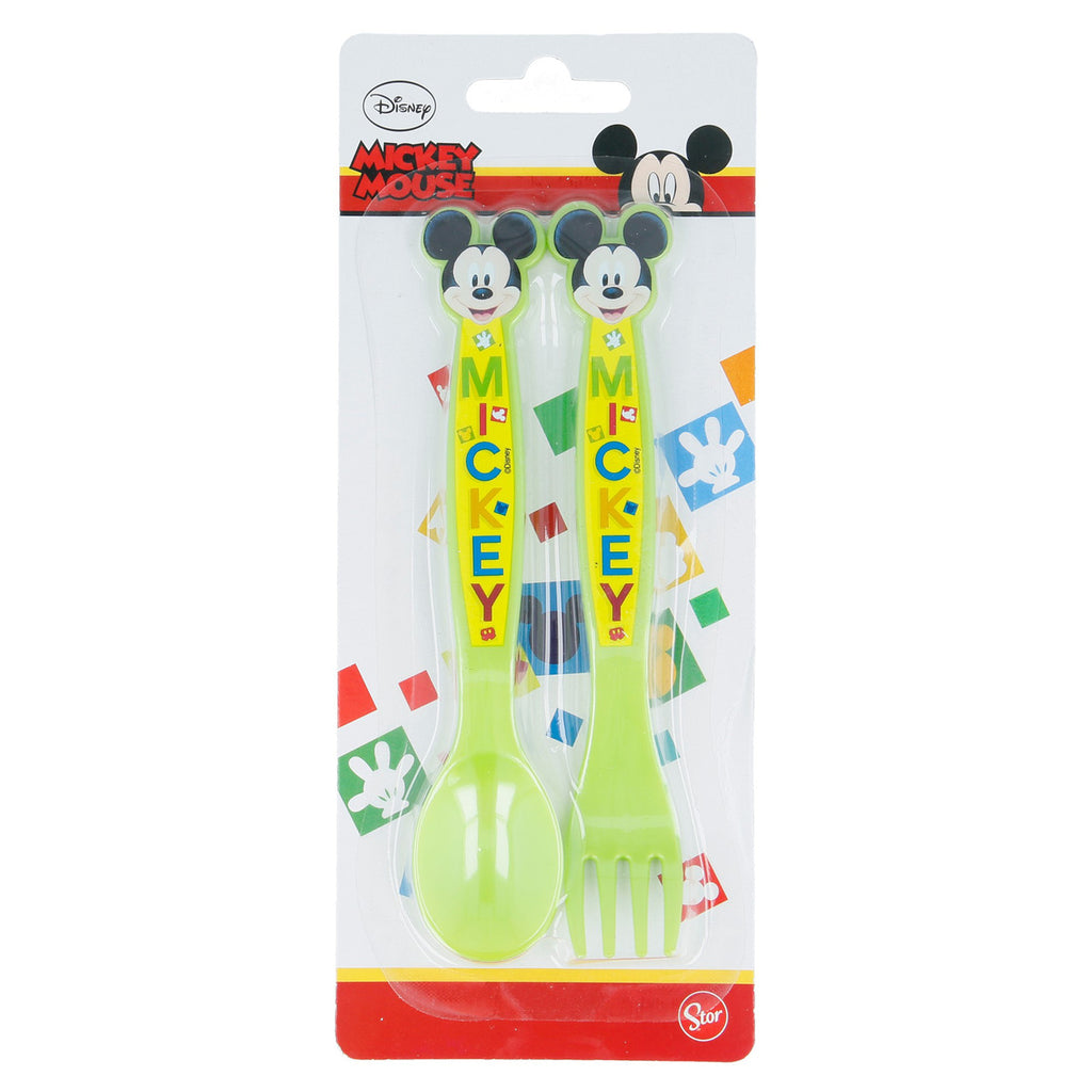 Mickey Mouse Cutlery Set 2Pcs 44216