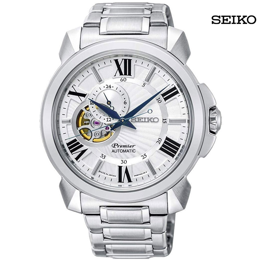 Seiko Men Analog Stainless Steel Watch, SSA369J1