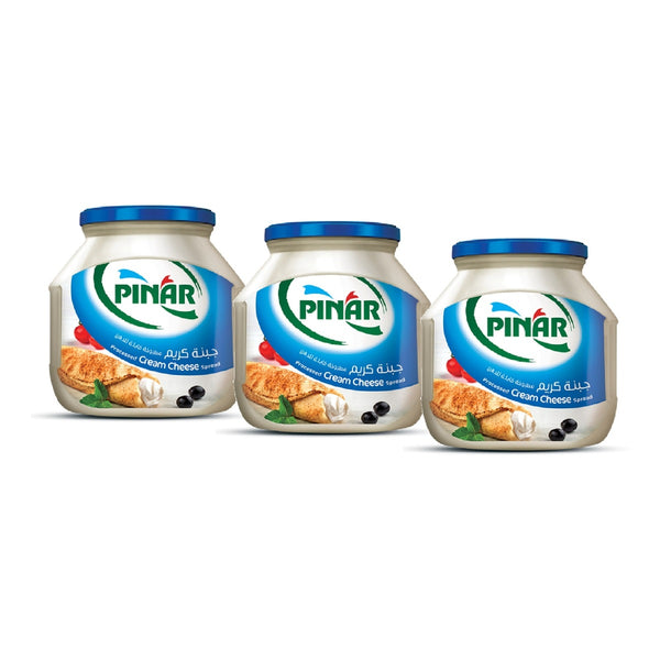Pinar Processed Cream Cheese Spread Jar 3 x 200g