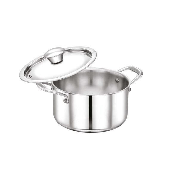 Chefline Stainless Steel Tri-Ply Dutch Oven INDRI 20cm