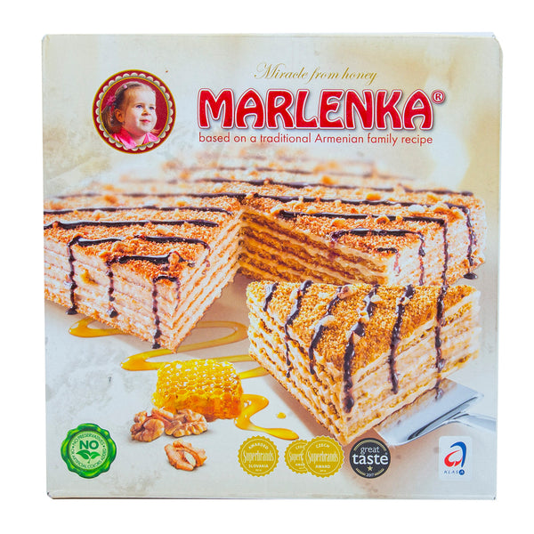 Marlenka Honey Walnut Cake 800g