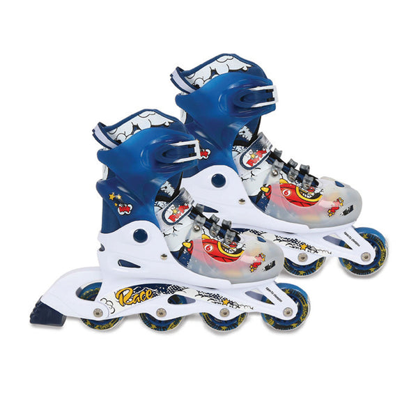 Sports Champion Skating Shoe PW-175B, Size S, Assorted Color & Design