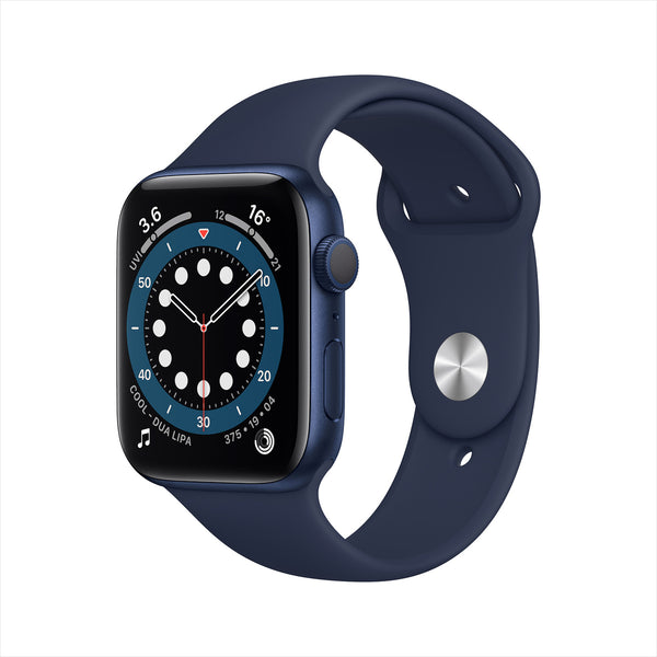Apple Watch Series 6 GPS M00J3AE / A - 44mm Blue Aluminium Case with Sport Band Navy