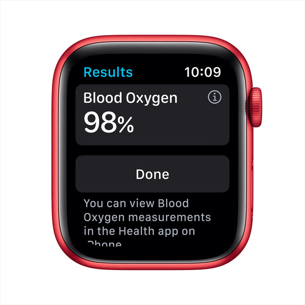 Apple Watch Series 6 GPS M00M3AE/A 44mm (PRODUCT)RED Aluminum Case with Sport Band PRODUCT(RED)