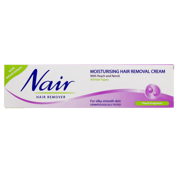 Nair Moisturising Hair Removal Cream With peach and Neroli 110ml