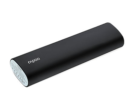 RAPOO POWER BANK P100 (10400MAH)-BLACK