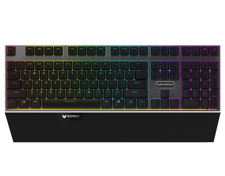 RAPOO VPRO GAMING KEYBOARD WIRED MECHANICAL RGB V720S